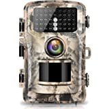 【2021 Upgraded】Campark Trail Camera 20MP 1080P Full HD Hunting Cam 2.0' Color LCD Wildlife Game Scouting Digital…