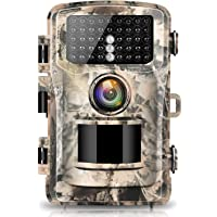 """【2020 upgrade】Campark Trail Camera 16MP 1080P 2.0"""" LCD Game & Hunting Camera with 42pcs IR LEDs Infrared Night Vision up…"""