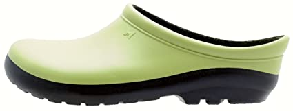 Sloggers Women's Premium Garden Clog with Premium Insole Insole, Kiwi Green - Wo's size 8 - Style 260KW08