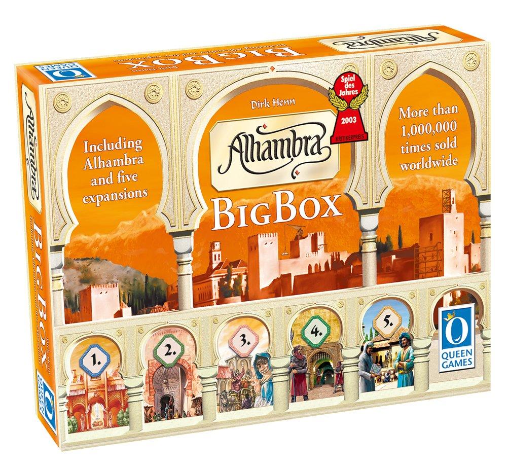 Asmodee – Strategiespiel – Alhambra