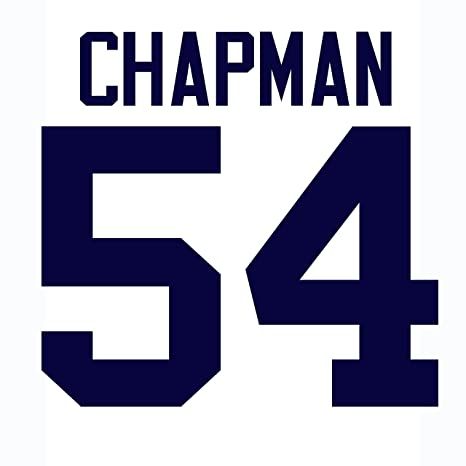 official photos b8fcd 18f6d Aroldis Chapman New York Yankees Jersey Number Kit ...