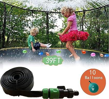 Water Sprinkler Pipe For Outdoor Waterpark Trampoline Kids Toy 39 Ft Spray Hose