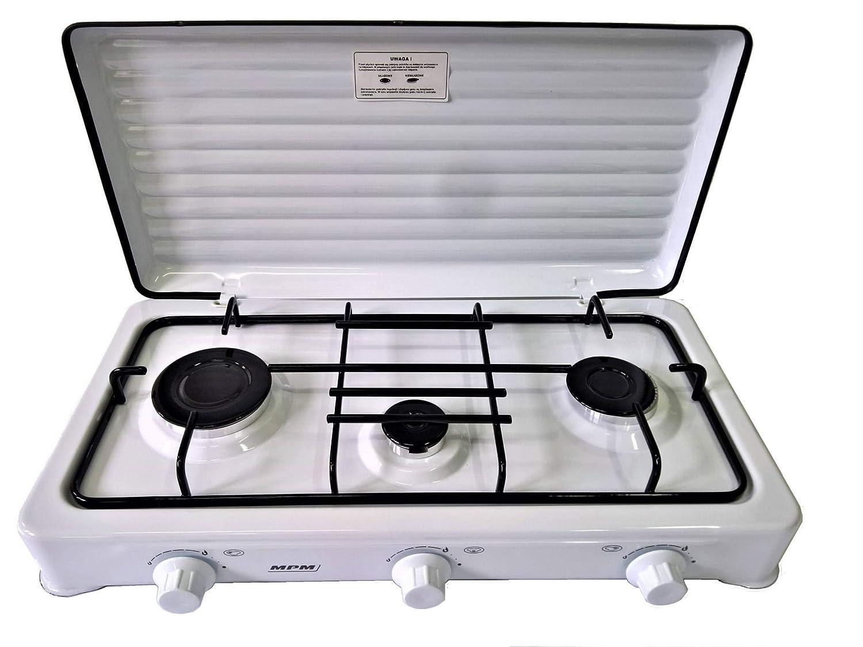 MPM Smile-KN/Cocina de Gas Portátil, Adultos Unisex: Amazon ...