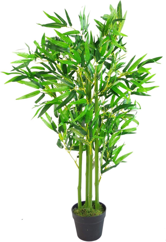 90cm 90cm 3Ft Fat 3ft Fat Leaf LEAF-7234 Feuilles de Bambou artificielles-XL r/éaliste-90 cm