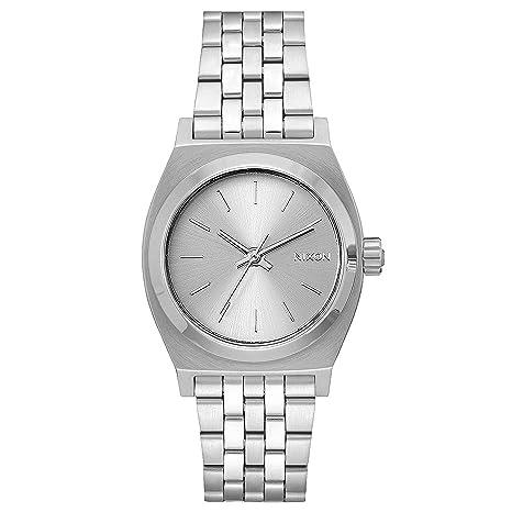 Nixon Reloj Digital para Adultos Unisex de Cuarzo con Correa en Acero Inoxidable A1130-1920