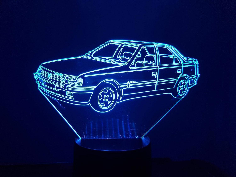 PEUGEOT 405 MI16, lampe 3D à LED