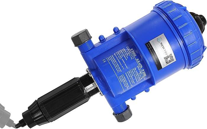 NEWTRY 0.2-2% Water Powered Fertilizer Injector Adjustable Chemical Liquid Doser Dispenser 4.4~660.43 gallons/h Drip Irrigation Injector Dosing Pump for Industry Garden Hose Livestock