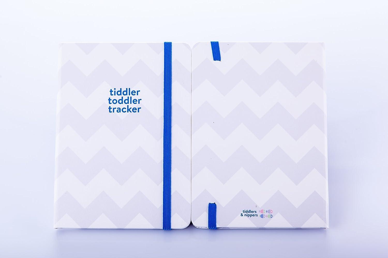 Daily Meal Time//alimentation sommeil Luxe pour enregistrer livre B6 Red Tiddler tracker pour enfant/ /Gagnant du Prix pour enfant suivi Journal Changement et journal dactivit/é livre