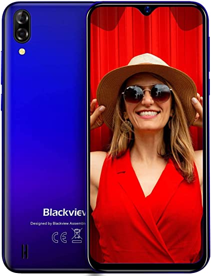 Blackview A60 Teléfono Móvil 16GB ROM (128GB SD), Pantalla 6.1 ...