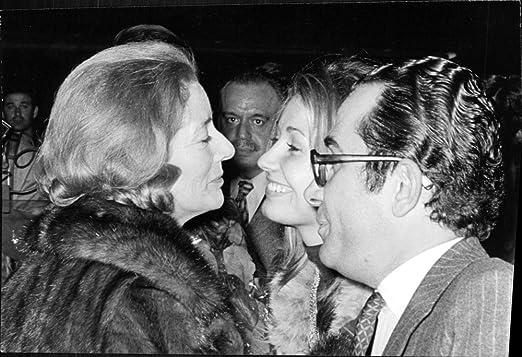 Vintage photo de María del Carmen Martínez-Bordiú y Franco con ...