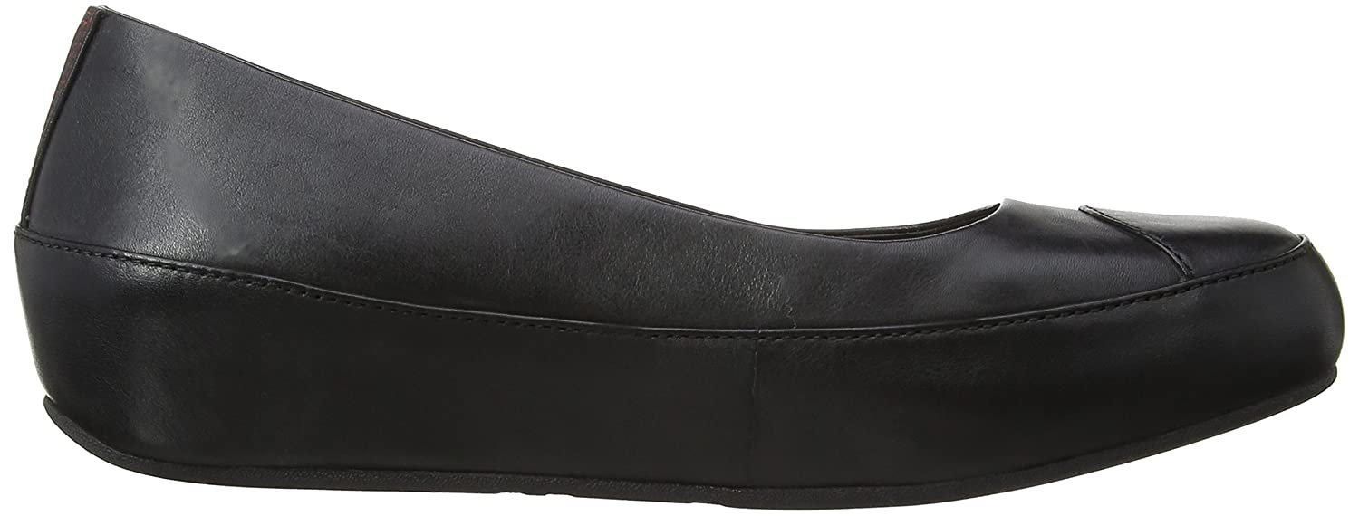 fitflop due leather rouge one review