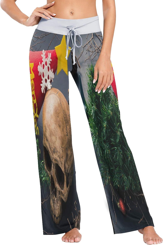 Nobrand Womens Pajama Lounge Pants Hummingbird and Butterfly Wide Leg Casual Palazzo Pj Sleep Pants Girls