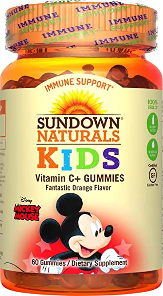 Sundown Naturals® Kids Disney Mickey Mouse® Vitamin C+, 60 Gummies