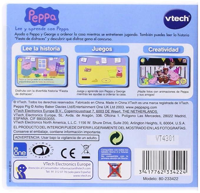 VTech - Juego para Tablet Educativo, Storio, Planes (3480-231822)