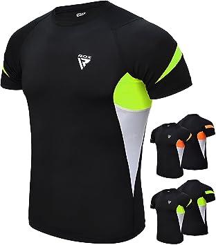 RDX Erupción Guardia Rashguard MMA Rash Vest Camisetas Compresion Termicas Sudor: Amazon.es: Deportes y aire libre