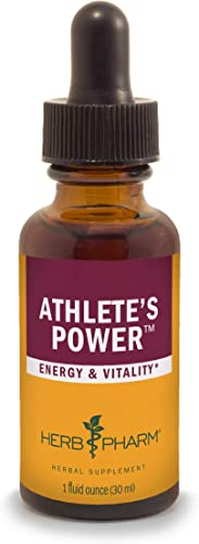 Herb Pharm Athlete s Power Liquid Herbal Formula for Energy and Vitality – 1 Ounce