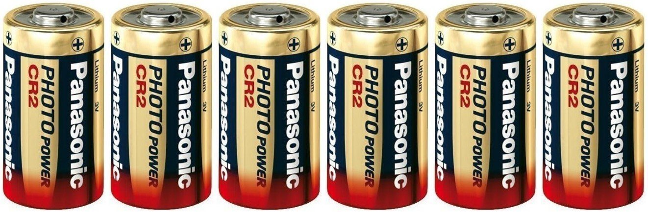 Panasonic CR2 Photo Lithium Battery Replacement