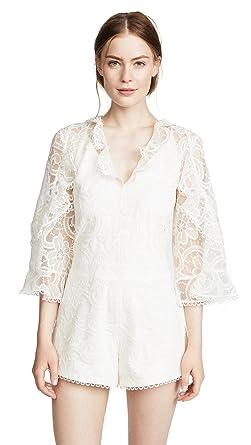 853b5bef1bd2 Amazon.com  Alexis Women s Geneva Romper  Clothing