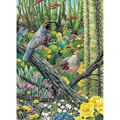 Cobble Hill Puzzles Courtship 1000 Piece Animals & Wildlife Jigsaw Puzzle: Toys & Games