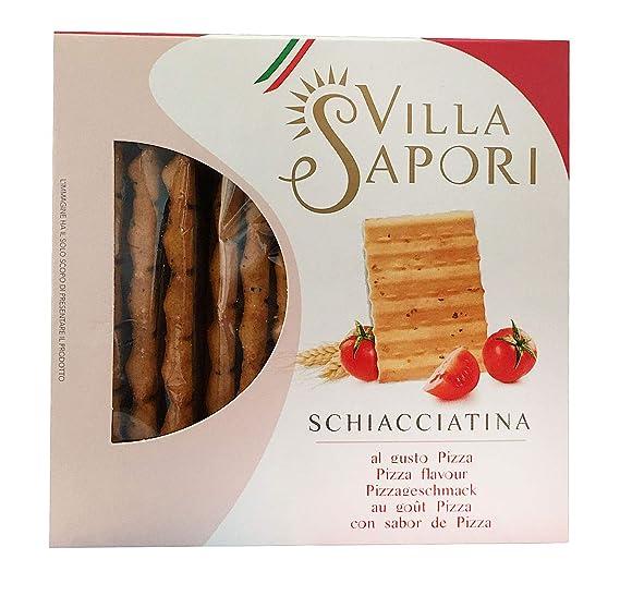 Villa Sapori - Schiacciatina surtida, caja de 1,2 kg (pack de 8 x 150 g): Amazon.es: Alimentación y bebidas