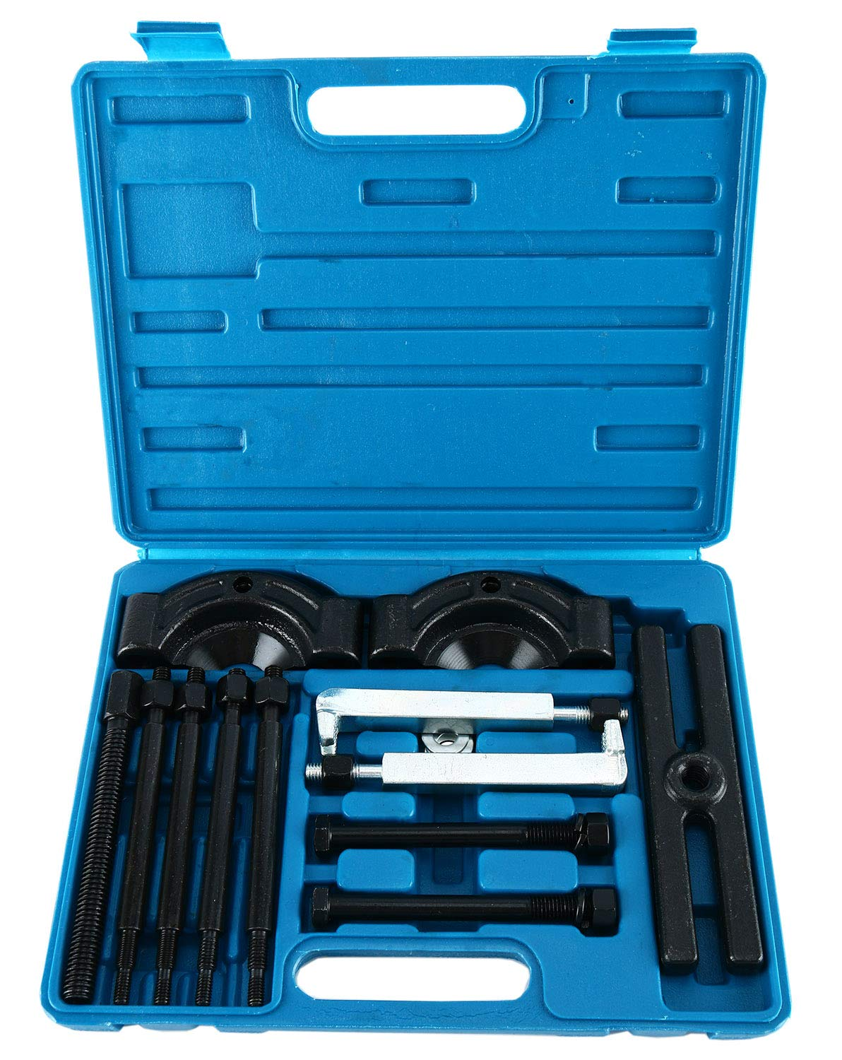 Heavy Duty 14-Piece Gear Puller and Bearing Splitter Tool Kit freebirdtrading