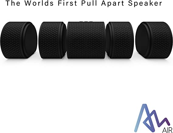 Air Audio The Worlds First Pull-Apart Wireless Bluetooth Speaker Portable Surround Sound and Multi-Room Use