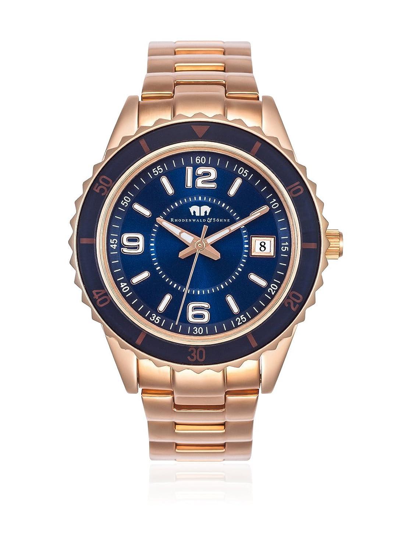 Rhodenwald & SÖhne Majesty Sport Edelstahl IPRG-Blue Japanisches Quarz 5ATM 10010131