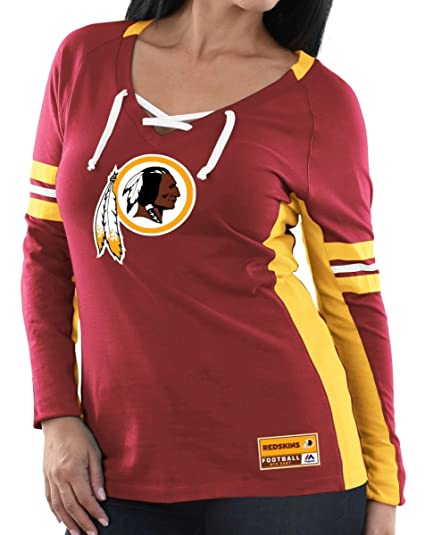 Amazon.com   Majestic Washington Redskins Womens Winning Style ... c5bb16708