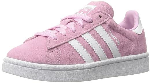 Adidas campus scamosciato scarpe da donna rosa