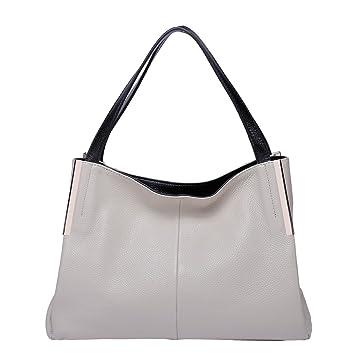 Amazon.com  BOYATU Leather Handbags Crossbody Shoulder Bags for Women  Elegant Satchel Totes(Off White)  Boyatu 8b9e123a0e69b