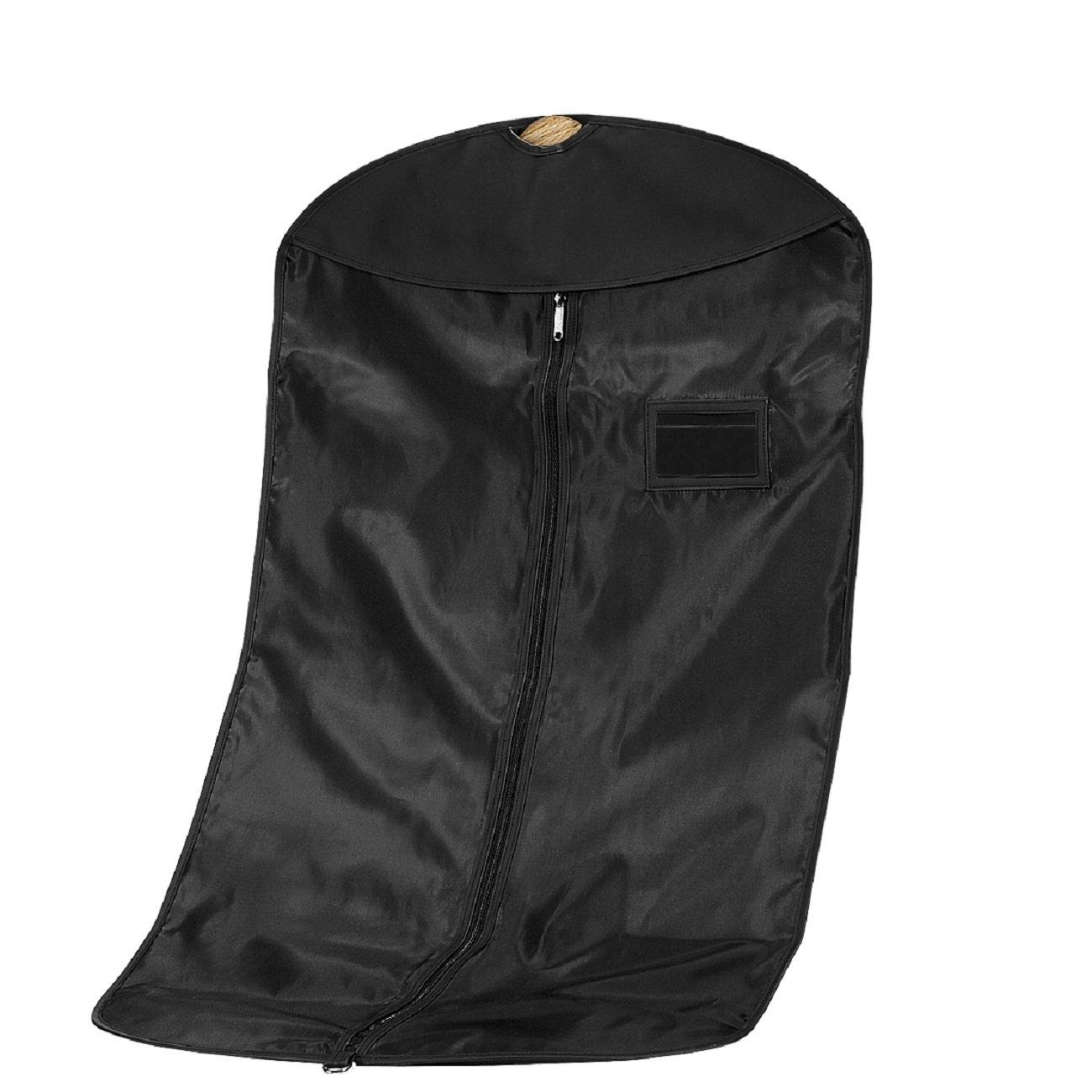 Quadra Men's QD031BLAC Deluxe Suit Cover, Black, One Size
