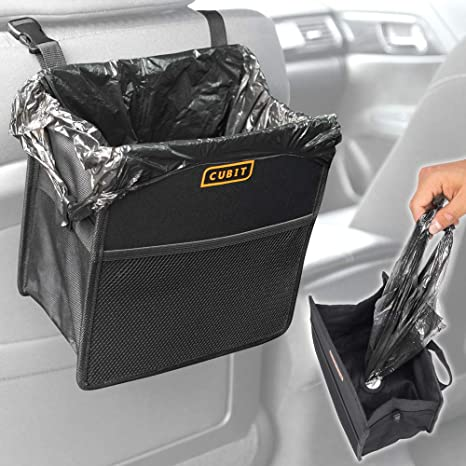 Amazon.com: Cubit - Bolsa de basura recargable para coches y ...