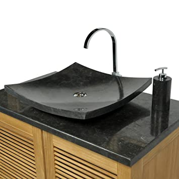 Waschbecken rund stein  Waschbecken Rund Mit Unterschrank | gispatcher.com
