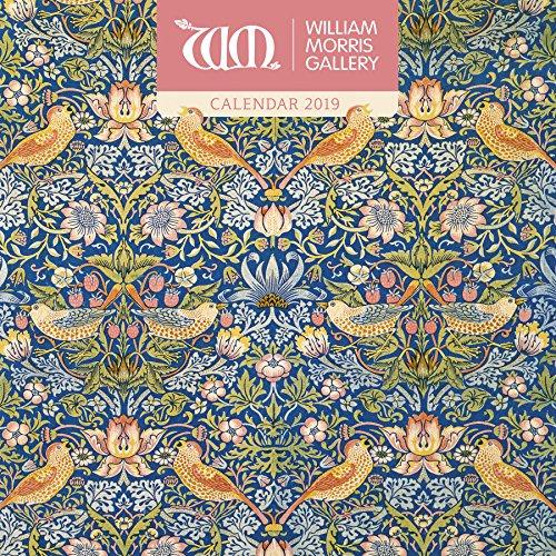 William Morris Gallery Wall Calendar 2019 (Art Calendar)