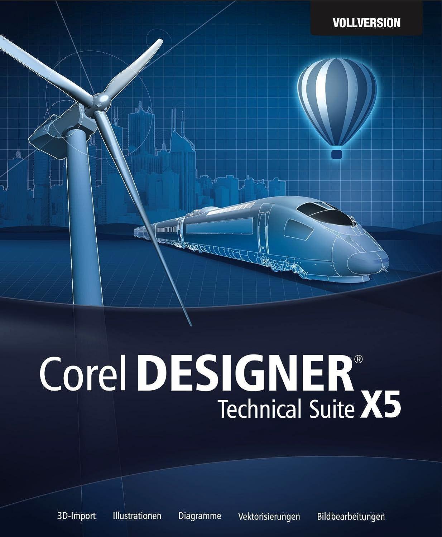 Corel DESIGNER Technical Suite X5: Amazon.de: Software