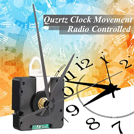 Amazon com: Cacys-Store - DIY Quartz Clock Movement Radio Controlled