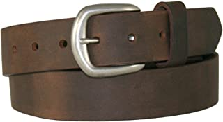 "product image for Boston Leather 1-1/2"" Chieftain Leather Belt - Made in USA"