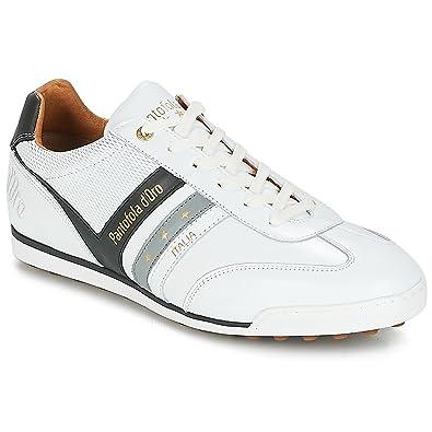 Finish Online Rabatt Mode-Stil Mens Vasto Soccer Weiss Sneaker Low 42 Pantofola D'oro n2lP1