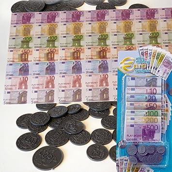 Lissek Spielgeld Euro Scheine Und Münzen Amazonde Spielzeug