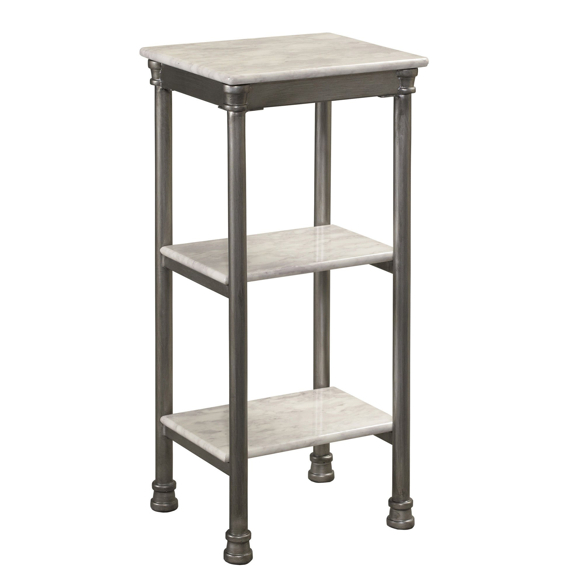 'The Orleans' Bathroom 3-tier Tower Bathroom Shelf Organizer