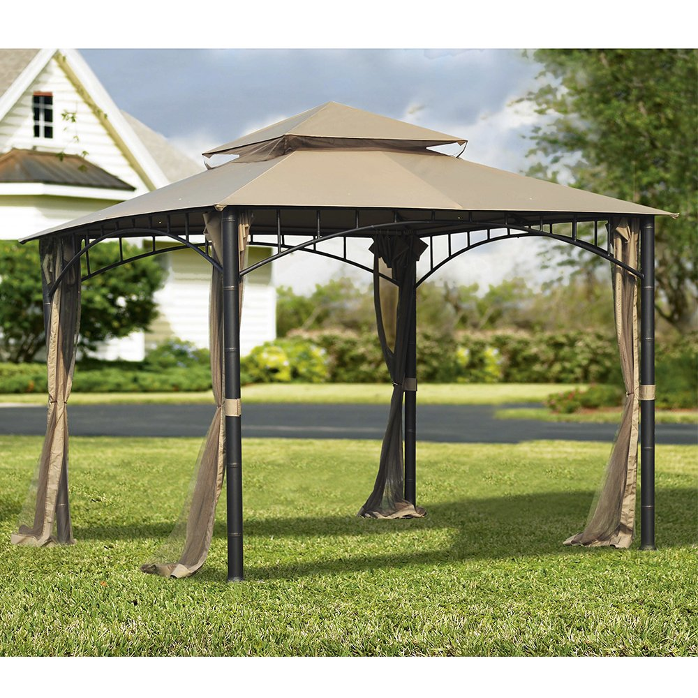 Sunjoy Replacement Mosquito Netting for Madaga Gazebo 110109157