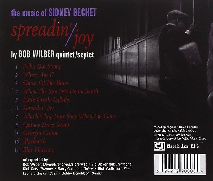 Buy Spreadin' Joy:The Music of Sidney Bechet Online at Low