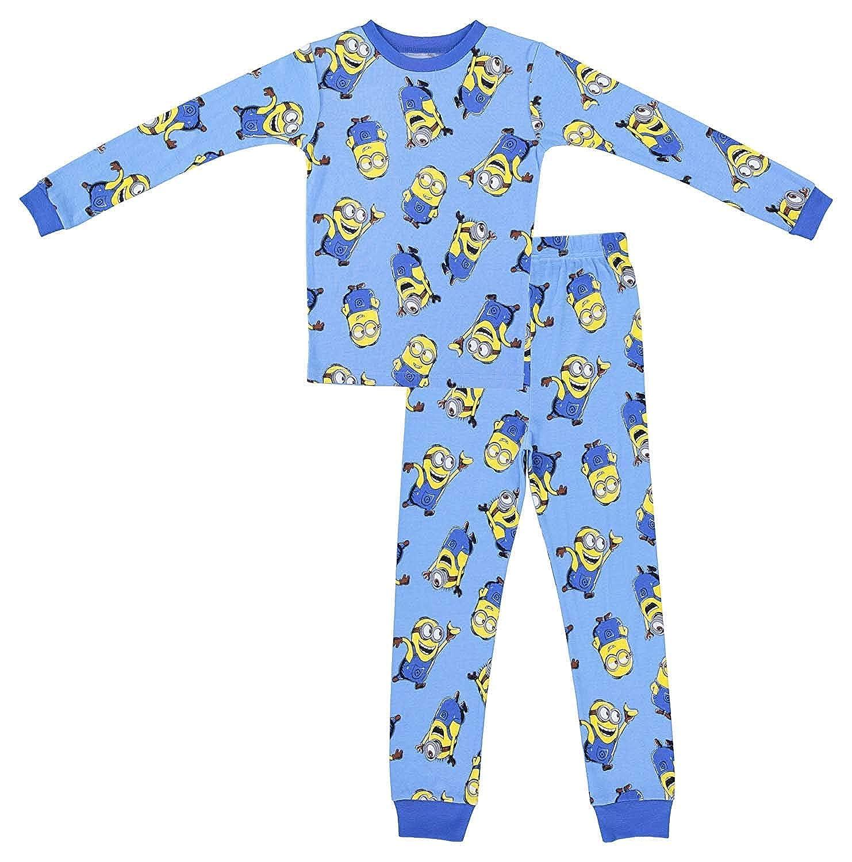 Minions Boys Despicable Me Pajamas 2-Pack of 2-Piece Long Sleeve Pajama Set