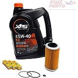 SeaDoo 4-TEC Oil Change Kit ALL 2002+ 4-TEC 130/155/185/215/255/260hp GTX RXT RXP RXP-X RXT-X GTI w/ 1 Gallon XPS 05W30 Oil,