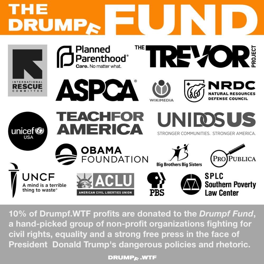 Make America Great Again Anti-Trump 10 Pack Pro-America 3 x 8 Vinyl Bumper Sticker Drumpf.WTF Impeach Trump