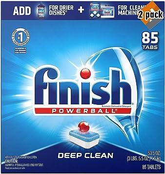 Amazon.com: Acabado – todo en 1 – 85 ct – detergente para ...