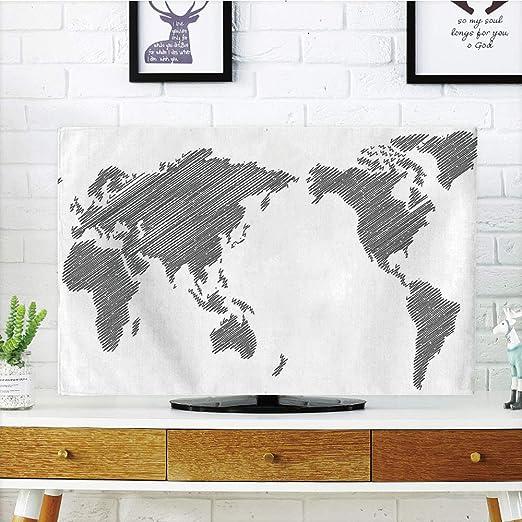 Funda para televisor LCD, rompecabezas de búsqueda de palabras ...