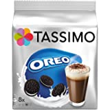 Tassimo Oreo Cocoa, Hot Chocolate, Cookie Flavour, 16 Discs (8 Cups), 0489