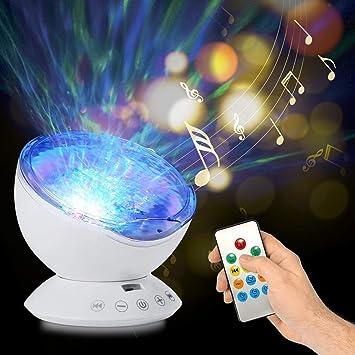 Amazon.com: Ocean Wave Proyector y reproductor de música 12 ...