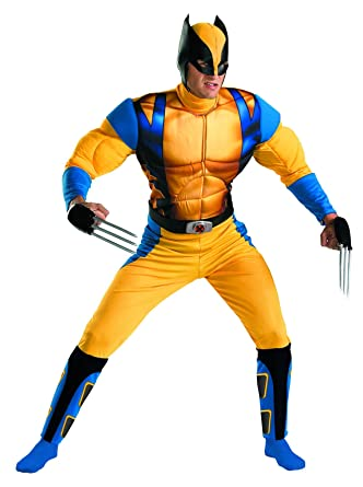 Amazon disguise marvel the wolverine classic muscle mens adult amazon disguise marvel the wolverine classic muscle mens adult costume clothing solutioingenieria Gallery